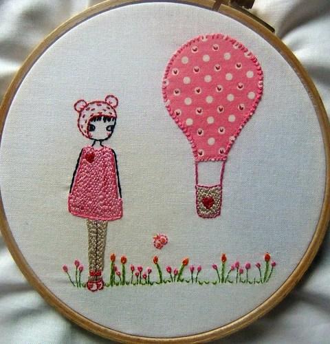 girl and a balloon