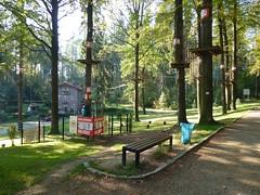 Park linowy na Górze Relax w Jedlinie by Polek