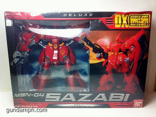 MSIA DX Sazabi 12 inch model (5)