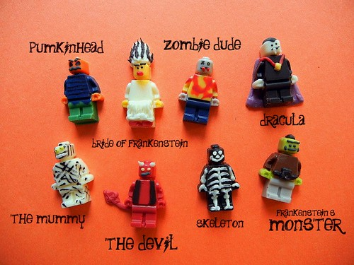 halloween lego minifig candies