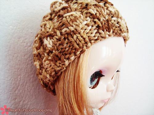 Caffè Latte Fetched Blythe Slouchy Hat