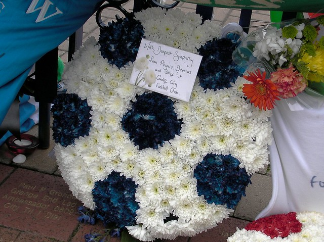 Tributes to Mikey Dye at CCFC