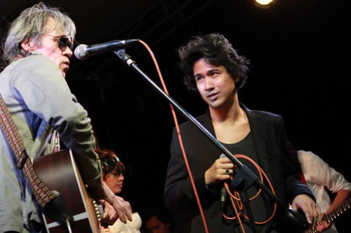 Pepe Smith and Ely Buendia at Rock Rizal - 4