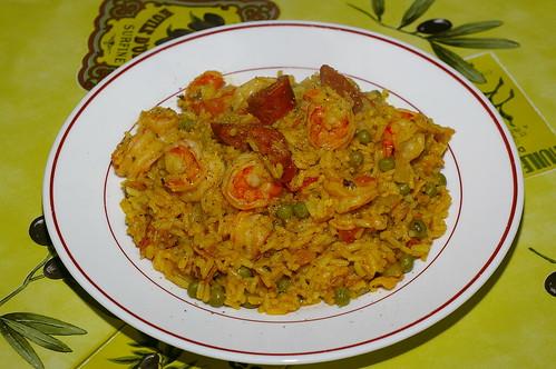 Spanish-style rice by La belle dame sans souci