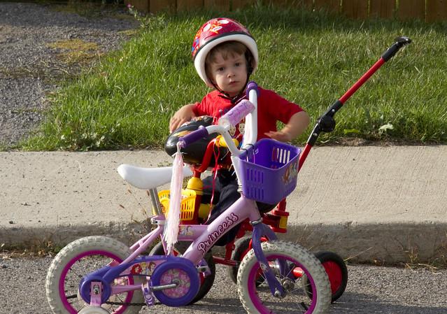 Z on Bike