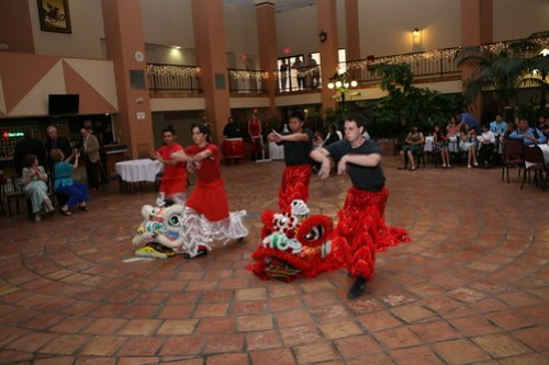Vanessa Jasons Chinese Martial Arts New Mexican Wedding