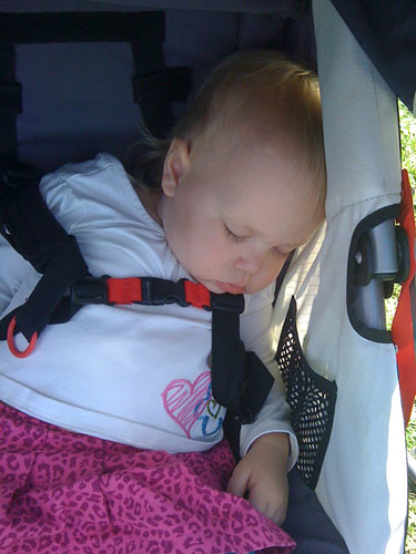 Too much apple picking, apparently.