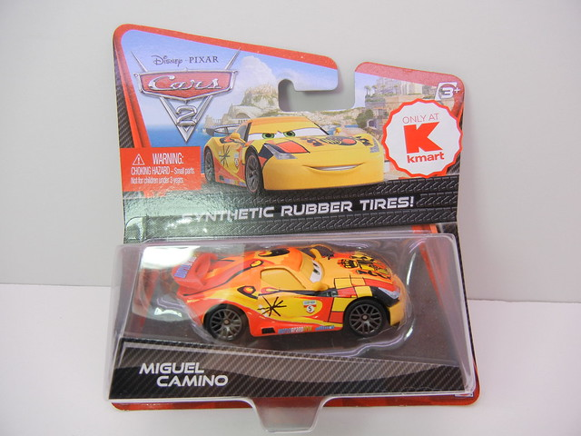 disney cars 2 kmart collector event #7 miguel camino