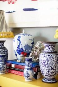 blue & white ceramics