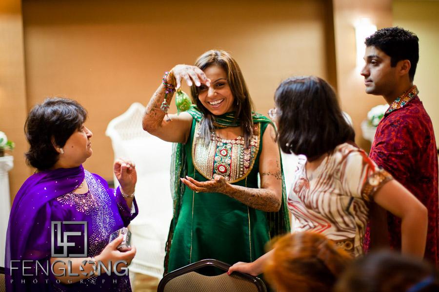 Beautiful Indian Bride | Shamz & Sana's Wedding Day 1 | Hyatt Place Atlanta Airport South | Atlanta Indian Photographer