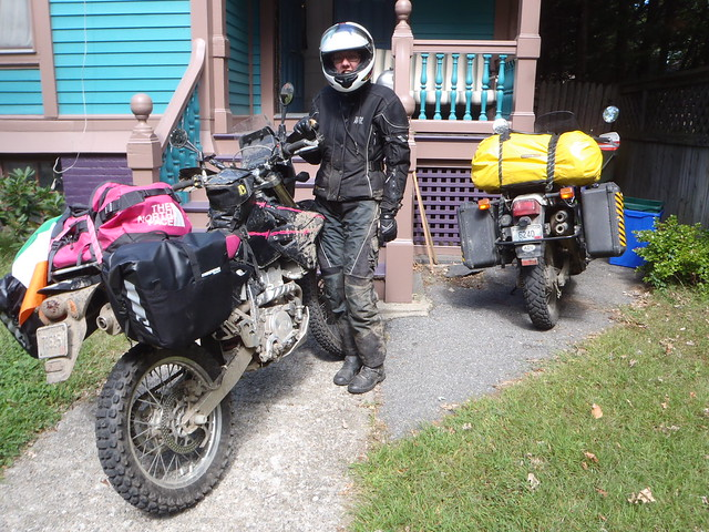 100 miles and a night sleeping on the ground, I'm finally back home and looking forward to some strong medicine