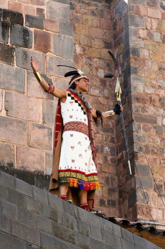 Inti Raymi Inca king Sapa Inca sun festival Coricancha