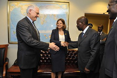 World Affairs Briefing with President Ouattara...