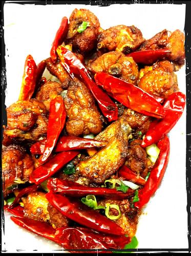 Szechuan Chilli Pepper Chicken