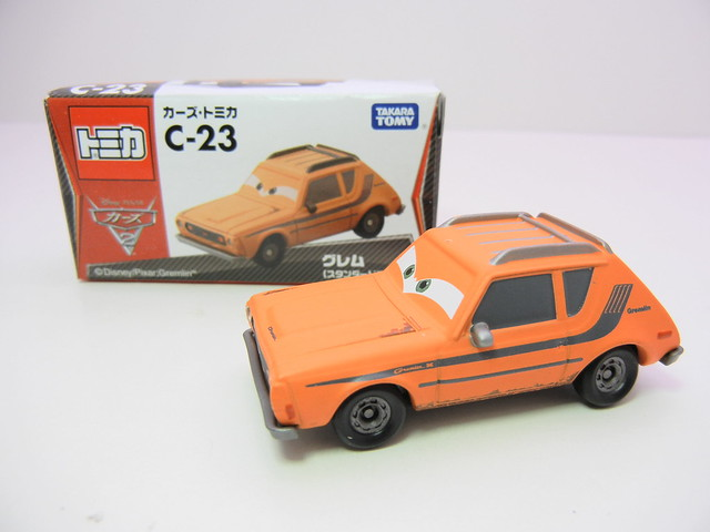 disney cars 2 tomica c-23 grem (2)