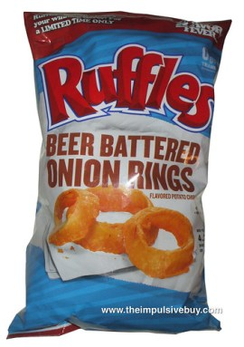 Beer Battered Onion Rings Ruffles