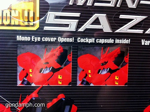 MSIA DX Sazabi 12 inch model (6)