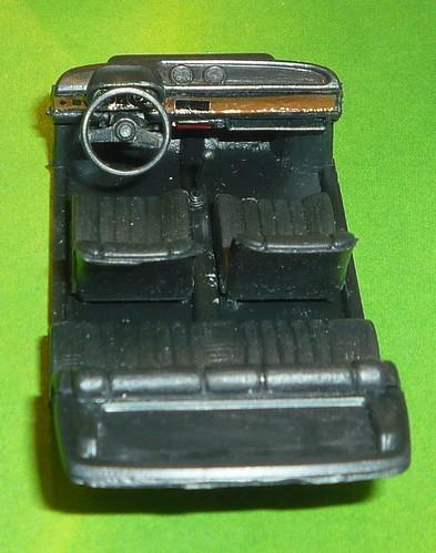 Brumm Fiat 127 interni