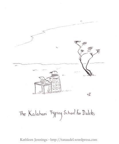 The Kalahari Typing School for Daleks