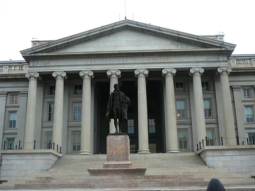 Alexander  Hamilton's statue, Washington D.C. by Versa Kay