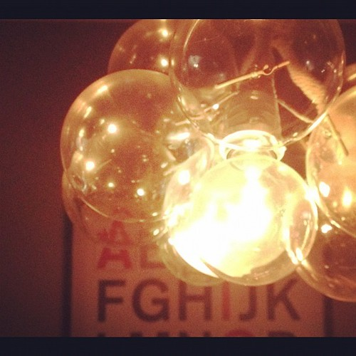 Edison's chandelier