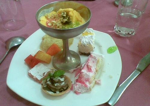 Dessert at Ivy- the Unwind Island