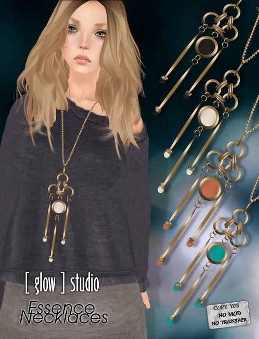 [ glow ] studio - Essence Necklaces vol 2