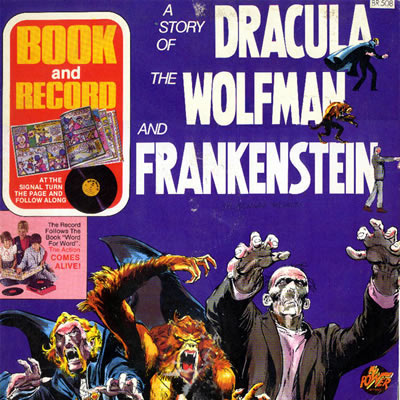 Dracula book and record