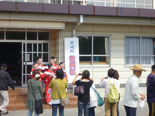 末崎町復興祭, 大船渡市末崎町でボランティア Volunteer at Ofunato, Iwate pref. Deeply Affected Area by the Tsunami of Japan Earthquake