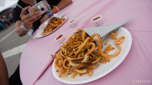 2011 Cherry Blossom Festival, Day 1: The Fry Guy's Sea Salt Fries