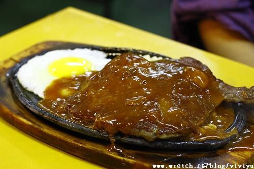 [美食.台北]士林夜市.大統一牛排 @VIVIYU小世界