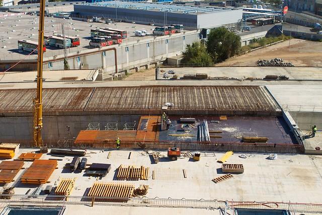 Triangle Ferroviari - Cubriendo vial - 10-11-11