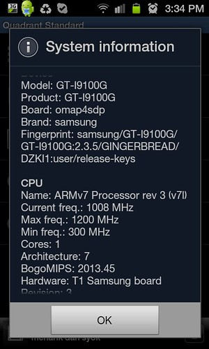 Final Encounter: Samsung Galaxy S2 GT-i9100G - The Gangsta Breed Internal Evaluations (2/6)