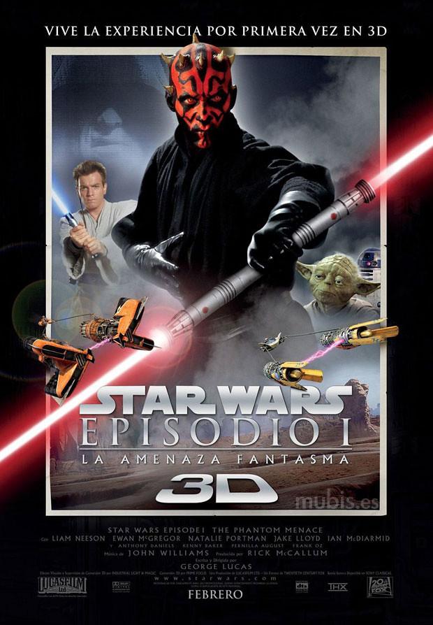 Poster_Star_Wars_Amenaza 3D
