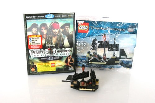 Target-exclusive Pirates of the Caribbean: On Stranger Tides 3D Blu-ray Limited Edition 5-disc set