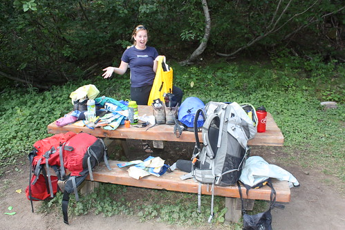 Getting Organized at the Trailhead