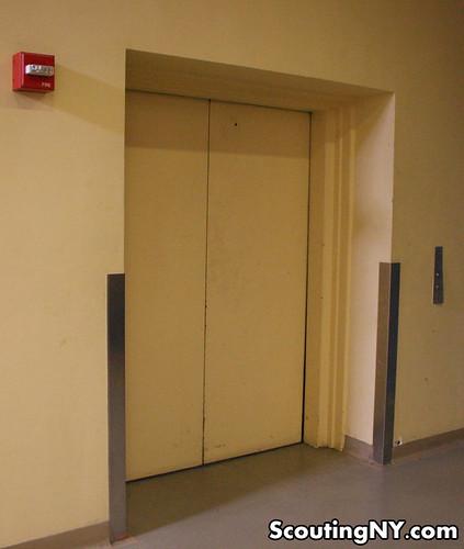 unassuming elevator