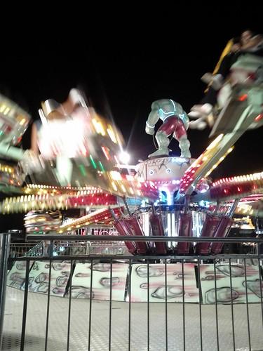 The Hulk carnival ride, Puglia, Italy