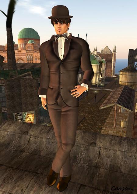 Starchild Designs - Mr Cellophane Suit