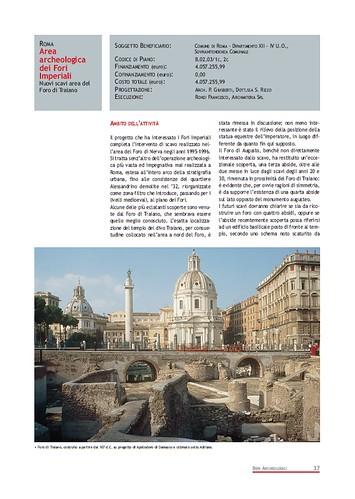 Rome, The Imperial Fora Project (1998-2011) Documents [in PDF]: Roma - Area Archeologica dei Fori Imperiali - Nuovi scavi area del Foro di Traiano. Com. di Roma (1999-2000). by Martin G. Conde
