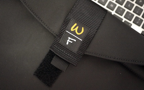 Velcro Closure on the Laptop Case (Waterfield Designs)