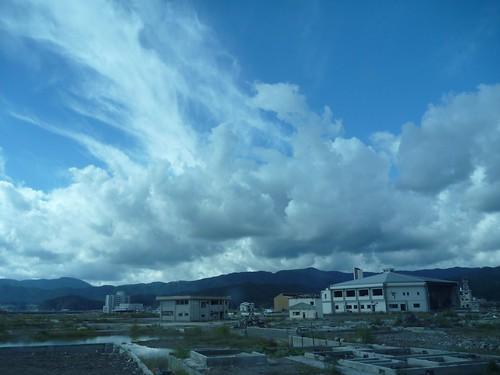 陸前高田, 大船渡市末崎町でボランティア Volunteer at Ofunato, Iwate pref. Deeply Affected Area by the Tsunami of Japan Earthquake