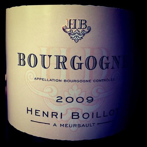 Henri Boillot Bourgogne Blanc 2009