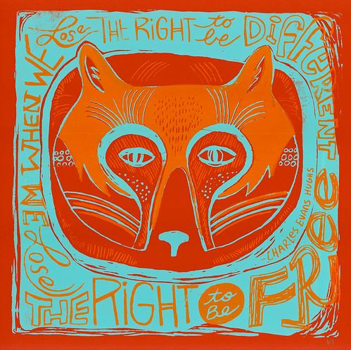 """right"" print/mask"