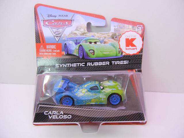 disney cars 2 kmart collector event #7 carla veloso