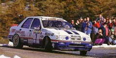 Ford Sierra Cosworth - Montecarlo 1992