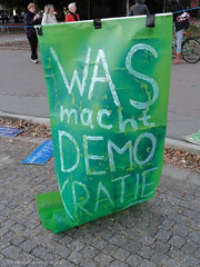Demokratiedemonstration