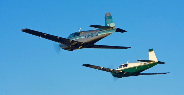 Mooney Formation - 4 planes (well two of them)