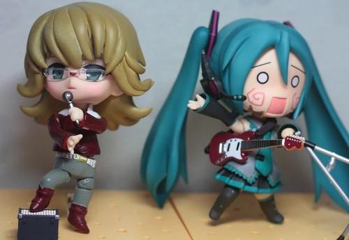 Custom Nendoroid Barnaby Brooks Jr. with Hatsune Miku