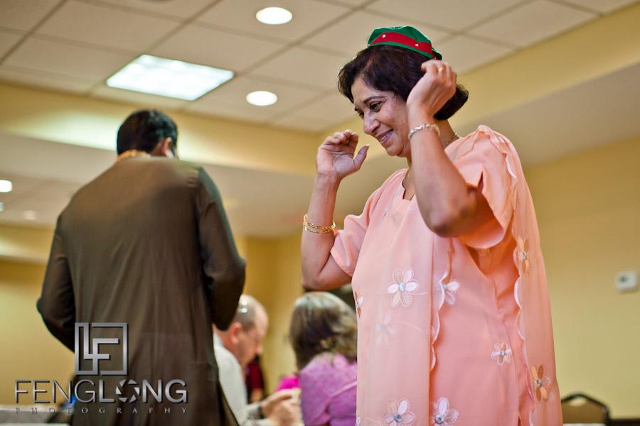 Mother of the Groom | Shamz & Sana's Wedding Day 1 | Hyatt Place Atlanta Airport South | Atlanta Indian Photographer
